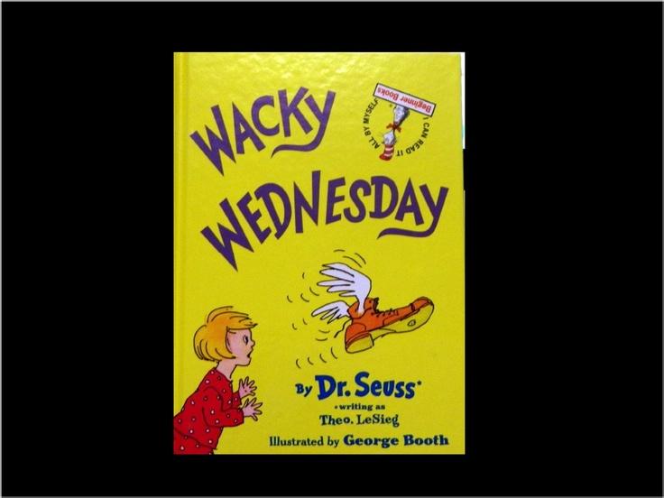 Wacky Wednesday Dr Seuss Quotes Wacky Wednesday Work Q...