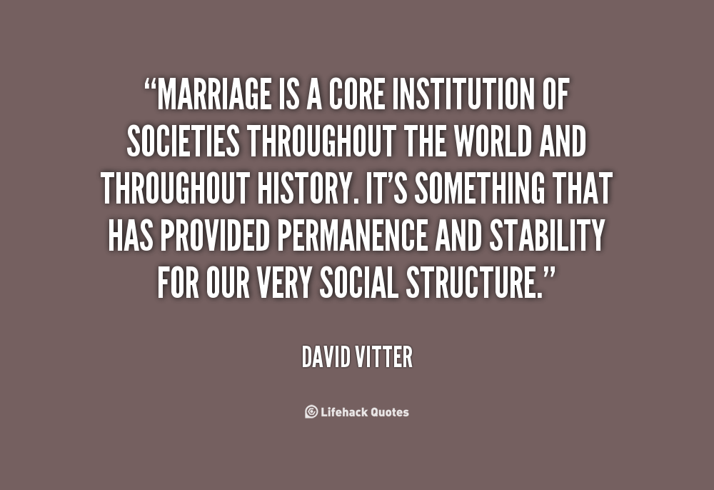 marriage as an institution pdf