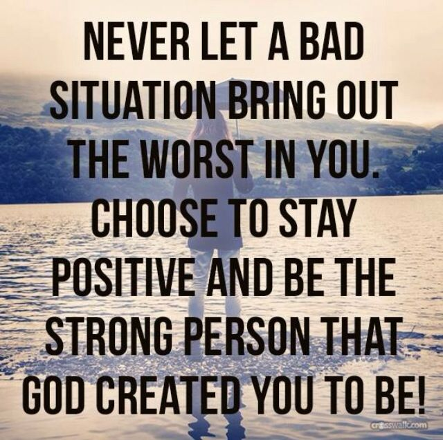 Christian Quotes About Staying Positive. QuotesGram