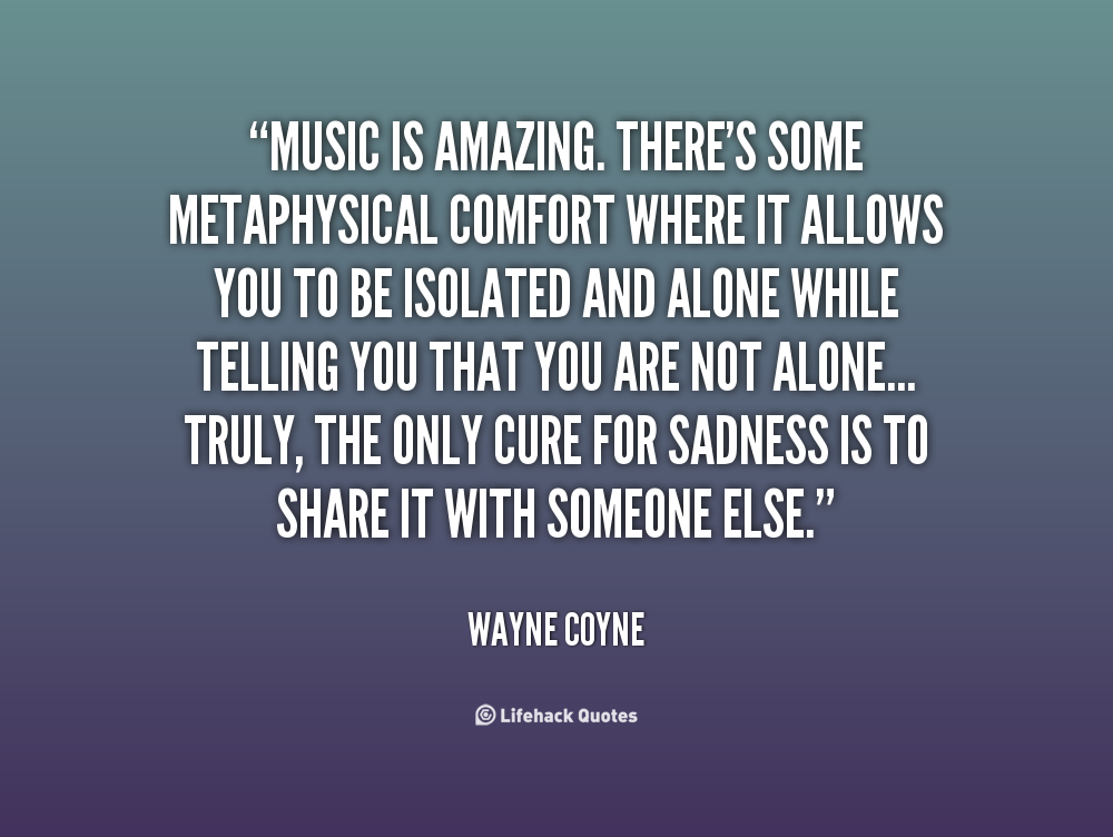 Amazing Music Quotes Quotesgram