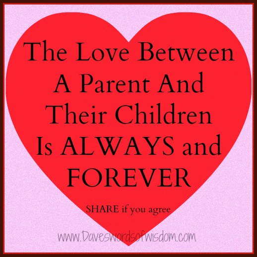 Inspirational Quotes For Children From Parents: Inspirational Quotes About Parents Love. QuotesGram