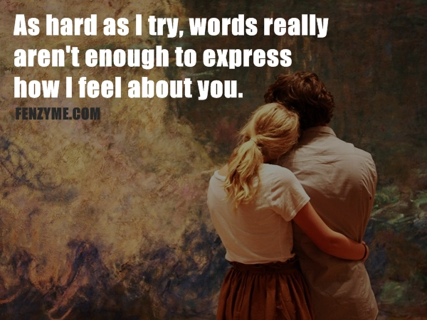Romantic Quotes To Say To Your Girlfriend. QuotesGram