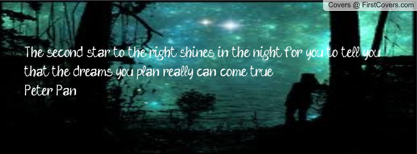 Peter Pan Quotes Facebook Covers. QuotesGram