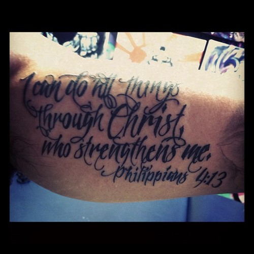 bible love quotes tattoo - photo #27
