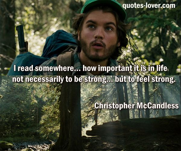 Into The Wild Memorable Quotes. QuotesGram