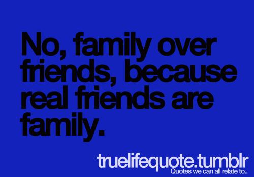 Family Over Friends Qu...