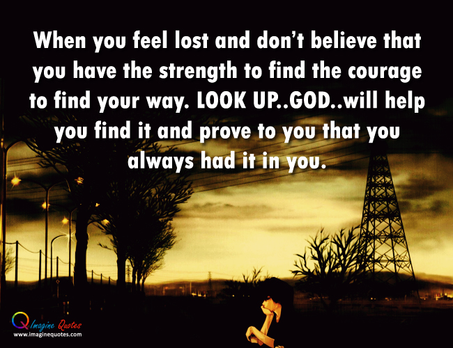 Lost And Alone Quotes QuotesGram