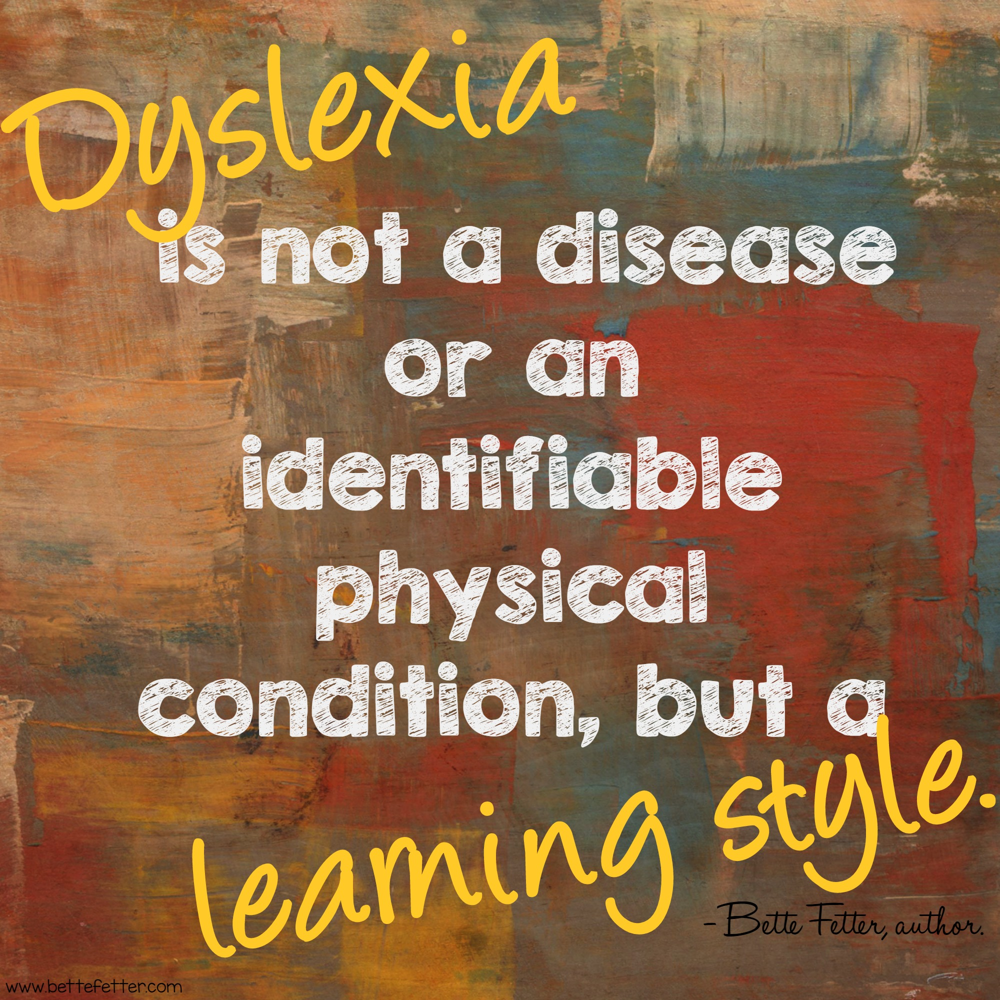 Inspirational Quotes About Dyslexia. QuotesGram
