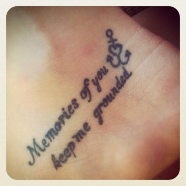 Quotes In Memory Of Mom Tattoos Quotesgram