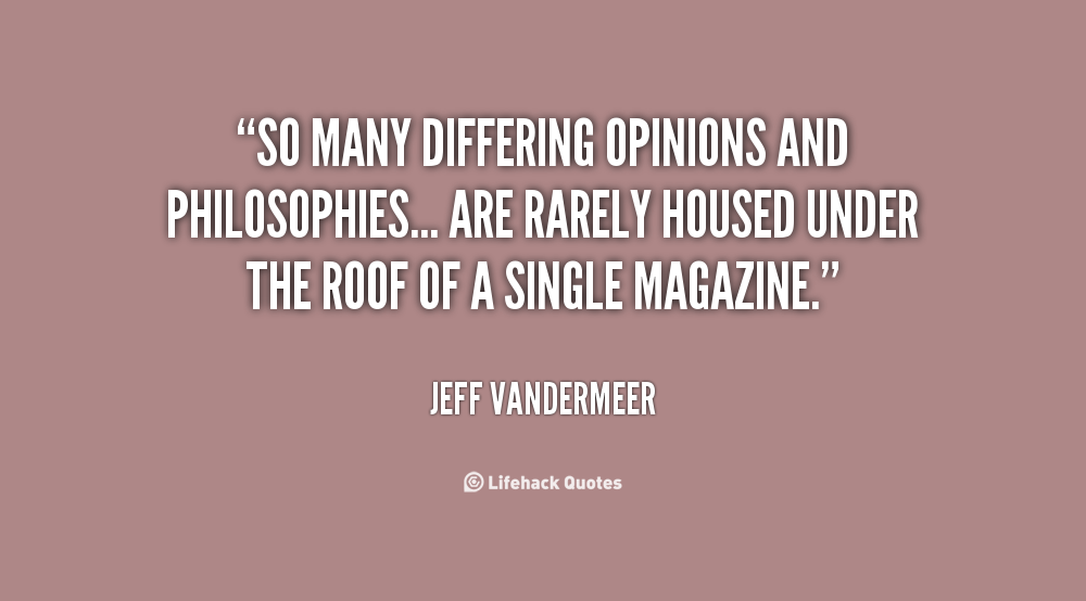Quotes About Opinions Differing. QuotesGram