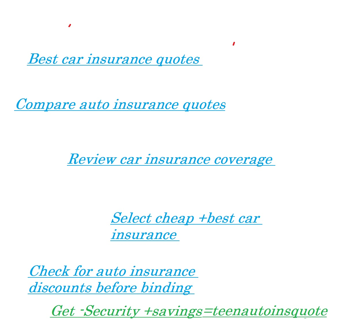 Fantastic Car Insurance Quotes For Teens QuotesGram