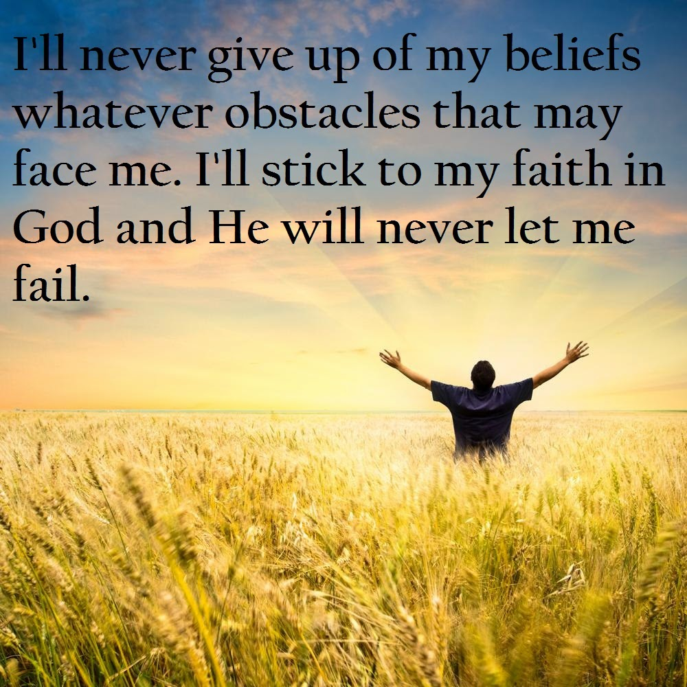 Faith In God Quotes And Sayings. QuotesGram
