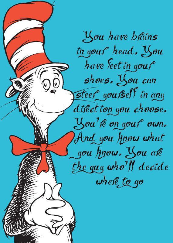 Graduation Quotes By Dr Seuss. QuotesGram
