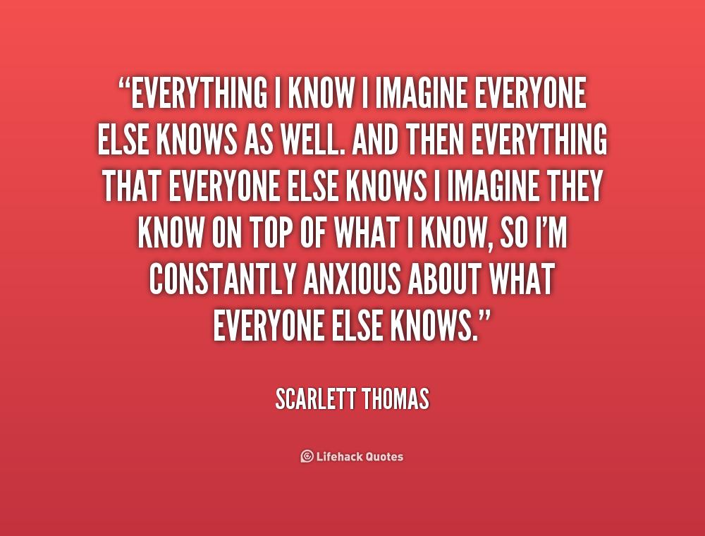 Scarlett Thomas Quotes. QuotesGram