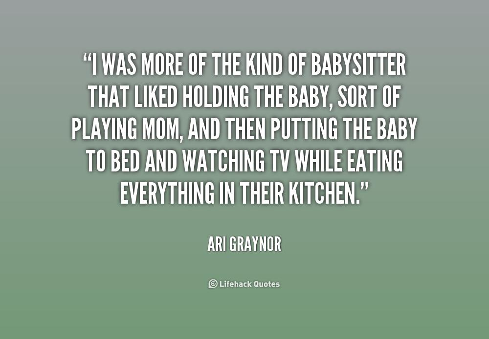 babysitter quotes  quotesgram
