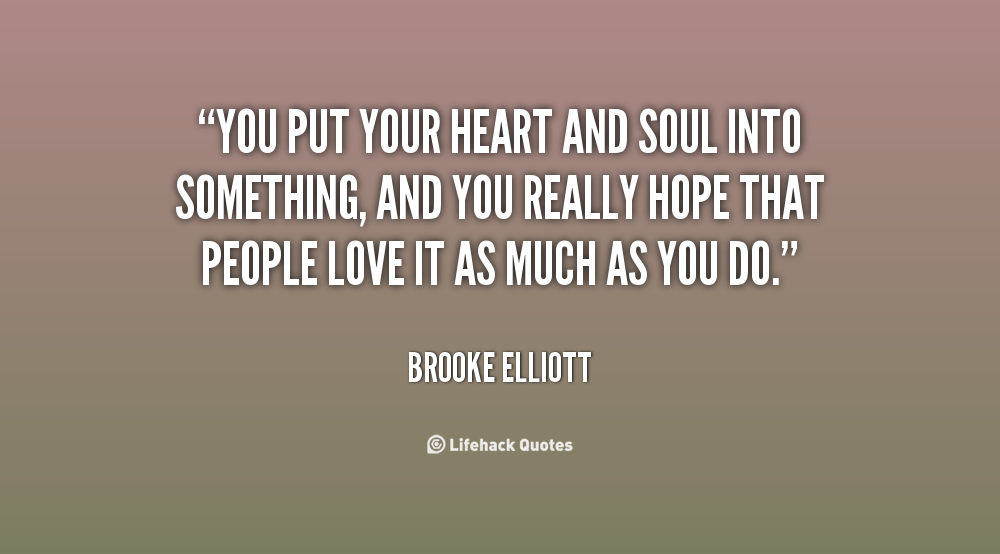 Quotes About Sharing Your Heart Quotesgram