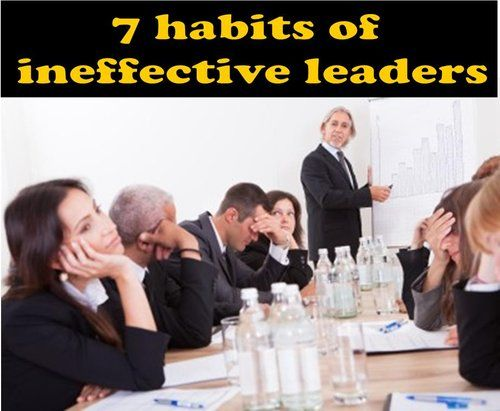 ineffective and effective leadership Successful/effective leadership gains respect, trust and loyalty by consistently achieving successful results, while developing effective relationships.