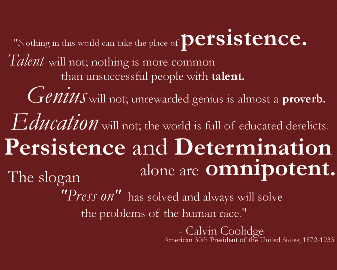 Persistence Quotes By Famous People. QuotesGram