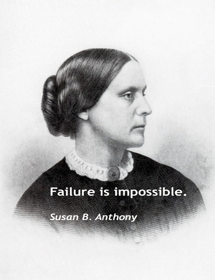 essay on susan b anthony However, congress still referred this decision susan b anthony, who was one of the most prominent women in the 19th century politically and socially, was the first.