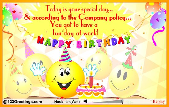 Happy Birthday Quotes For Co Worker Quotesgram