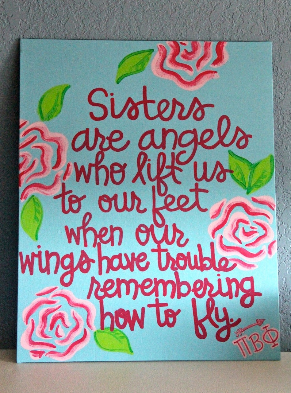 27 Best Quotes About Sisters Your Big or Little Sister ... |Sweet Big Sister Quotes About Sisters