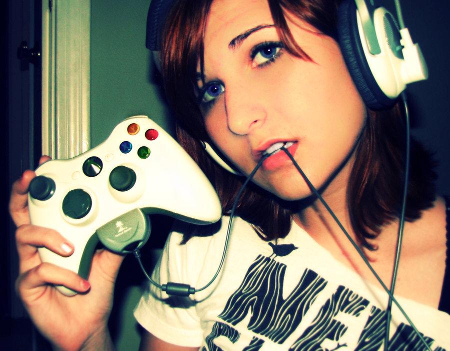 Hot Gamer Girl
