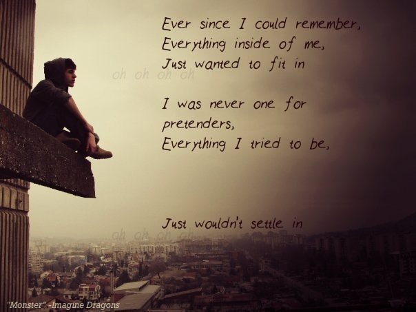 Quotes From Imagine Dragons Monster. QuotesGram