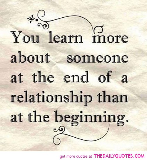 Positive Quotes About Relationships Ending: End Of Love Quotes. QuotesGram