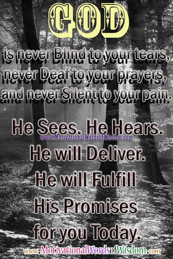 Inspirational Quotes On Gods Promises. QuotesGram