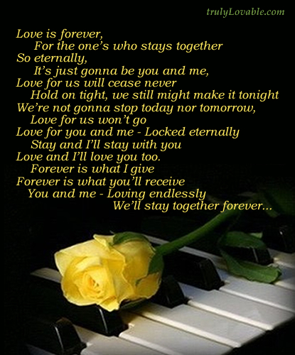 Love Me Forever Quotes. QuotesGram