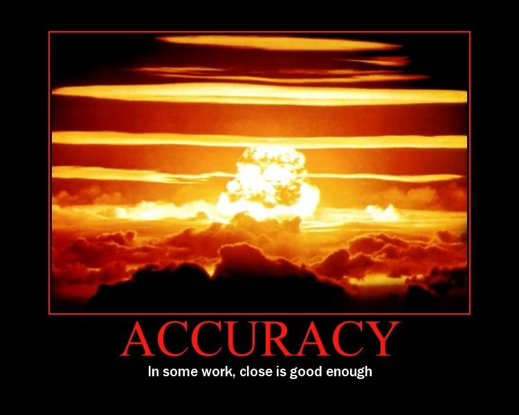 Accuracy In The Workplace Quotes Quotesgram
