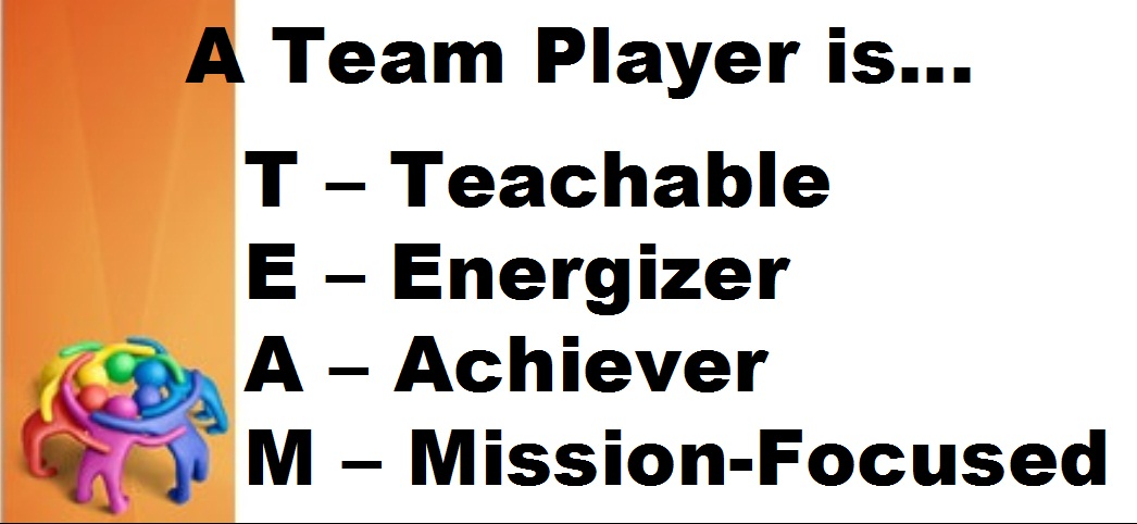 the definition and qualities of a team player The definition and qualities of a team player pages 2 words 837 view full essay more essays like this: robert c meyers, a team player, qualities of a team player, definition of a team player not sure what i'd do without @kibin - alfredo alvarez, student @ miami university  robert c meyers, a team player, qualities of a team player.