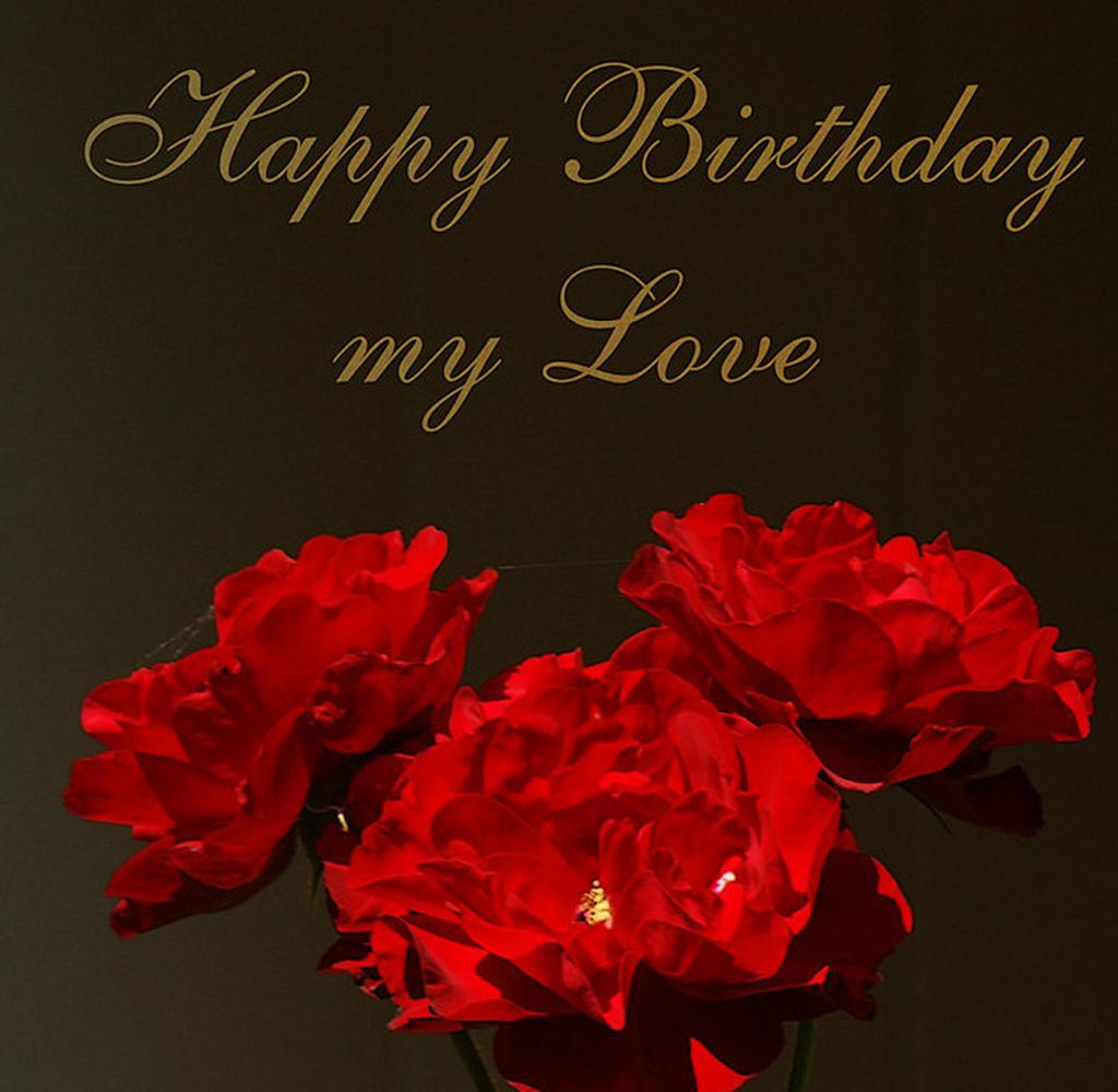 Happy Bday Love Quotes: Happy Birthday My Love Quotes. QuotesGram