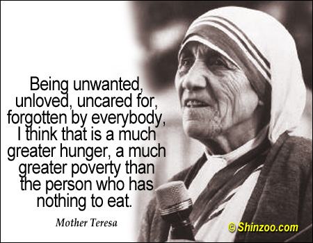 Quotes About Sons And Mothers Mother Teresa Quotes A...