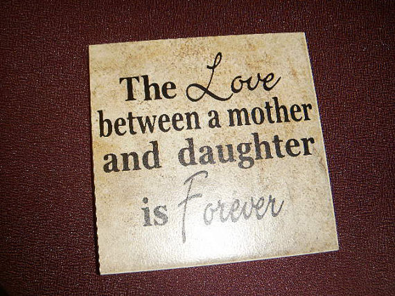 Bond Between Mother And Daughter Quotes Quotesgram