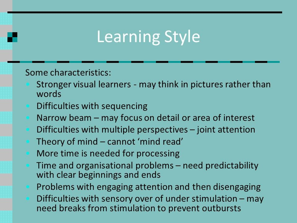 thesis on learning style (results page 4) view and download learning styles essays examples also discover topics, titles, outlines, thesis statements, and conclusions for your learning styles essay.