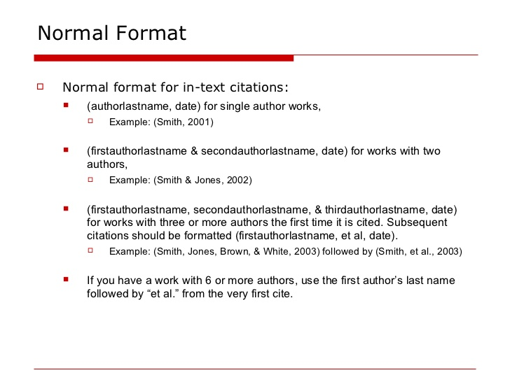 1813492184-apa-intext-citations-4-728 Quote Apa Format Example on indent block, text citation, examples indirect, do you need indent, 6th edition,