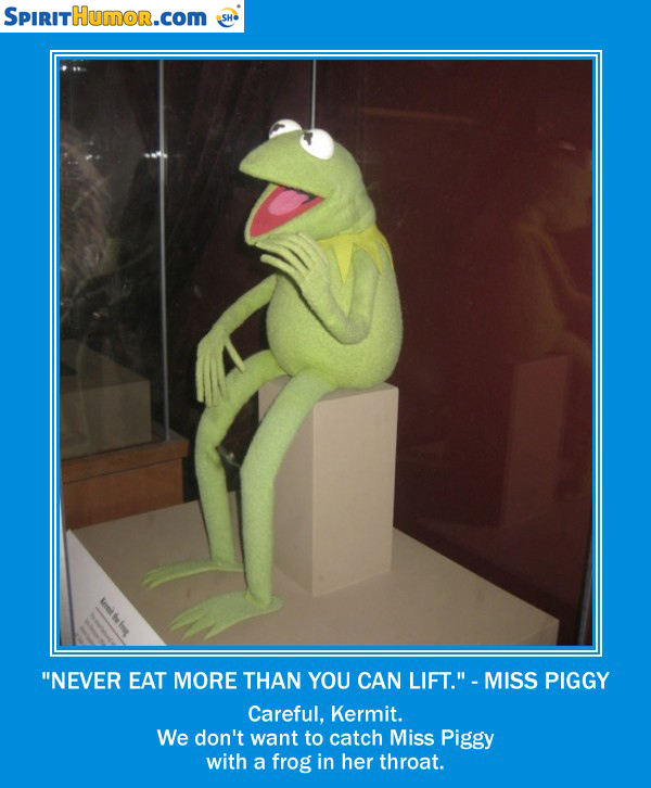 Kermit And Miss Piggy Quotes Missy Piggy None Of My...