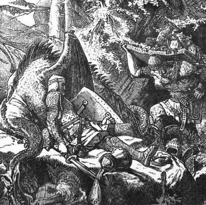 a comparison of the battles of beowulf A comparison of grendel in beowulf and john gardner's grendel essay - in both works, beowulf and grendel, grendel himself is generally given the same.