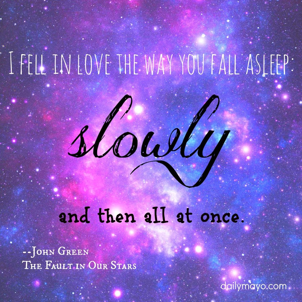 The Fault In Our Stars Quotes Wallpaper. QuotesGram