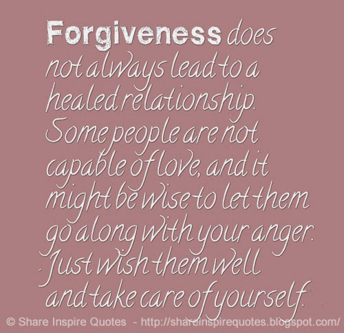 Quotes On Forgiveness And Second Chances: Quotes About Forgiveness In Relationships. QuotesGram