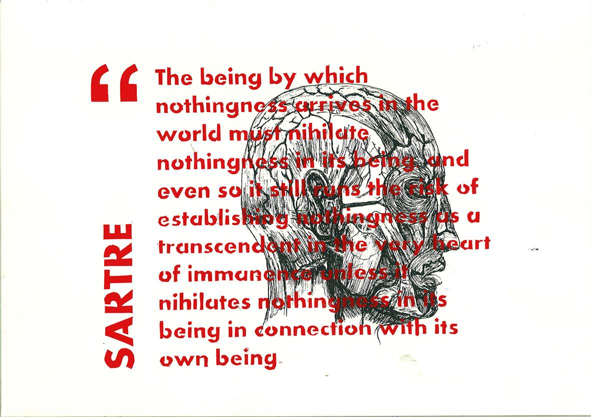 essay on sartre being and nothingness Sartre essays: over 180,000 sartre essays, sartre term papers, sartre research paper, book reports 184 990 essays being and nothingness analysis entry.