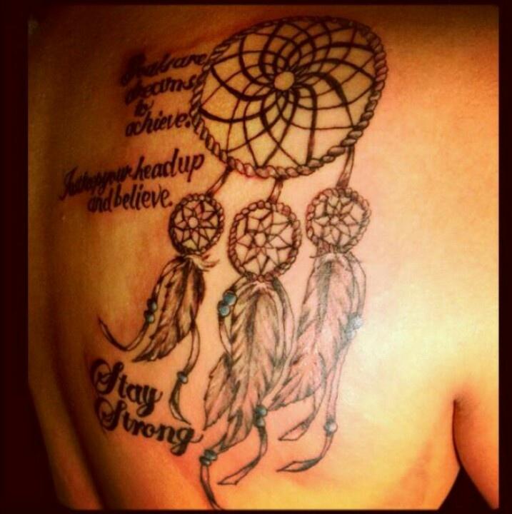 Tattoo Quotes And Poems Quotesgram: Dream Catcher Tattoos With Quotes. QuotesGram