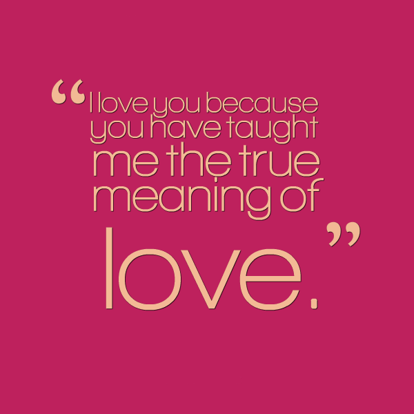Sad Quotes About Love: I Love You Because Quotes. QuotesGram