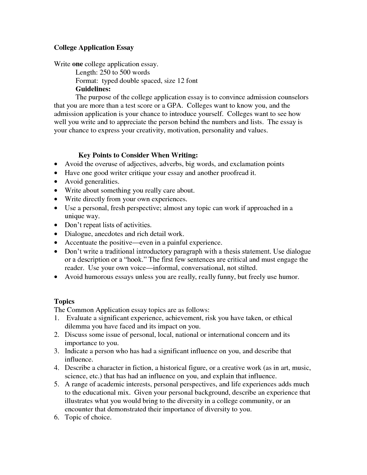 college essays mla While (hopefully) no lives are riding on your college application essays, this is a great time to revisit some of the rules of writing well.