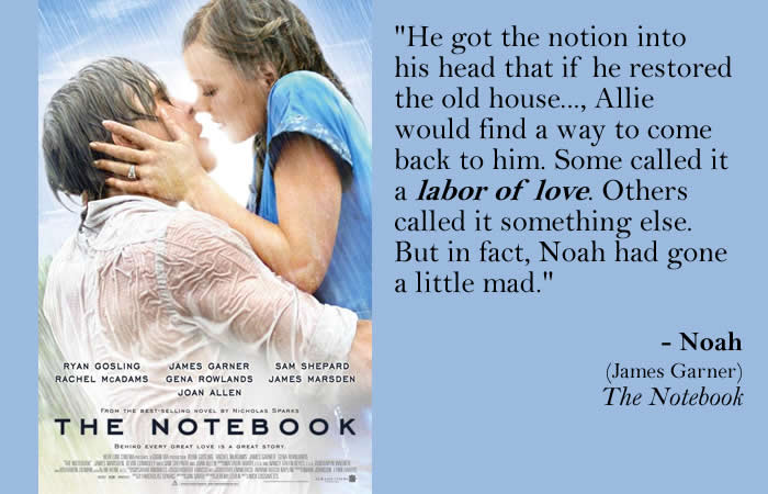 The Notebook - Movie Quotes - Rotten Tomatoes