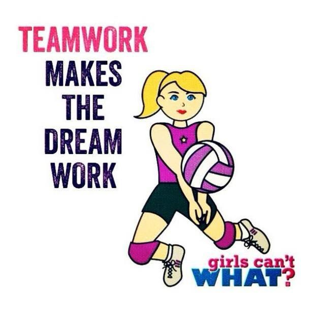 Motivational Quotes For Sports Teams: Quotes About Winners Teamwork Volleyball. QuotesGram