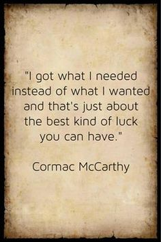 Critical essay on the road by cormac mccarthy