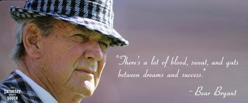 Bear Bryant Quotes About Winning. QuotesGram