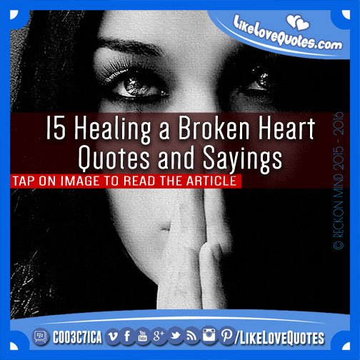 Healing Quotes And Sayings. QuotesGram